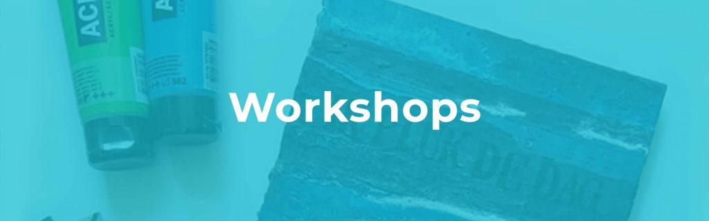 Workshops over of met de Krachtkaarten met Caracter en positieve affirmaties; mixed media; kies voor jezelf