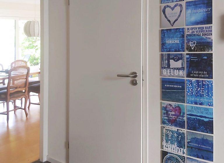 krachtkaarten, met caracter, aan de muur, mooi, kunst, kunstwerk, werkkamer, wanddecoratie, werkkamer, wachtkamer, huis, positieve affirmaties, uniek, betekenisvol, kunstzinnig, tegeltjeswijsheid